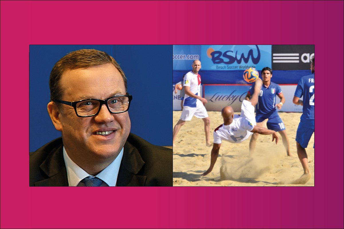 Running the most attractive version of the beautiful game – an interview with Joan Cusco, President, Beach Soccer Worldwide